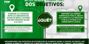 FRENTE A COVID-19 CENTRALES DE ABASTO DE ECATEPEC Y SAN VICENTE CHICOLOAPAN, EN EL ESTADO DE MÉXICO, LLEVARÁN ALIMENTOS FRESCOS A POBLACIÓN QUE NO VIVA CERCANA A UNA MERCADO PARA MINIMIZAR TRASLADOS Y RIESGOS DE CONTAGIO